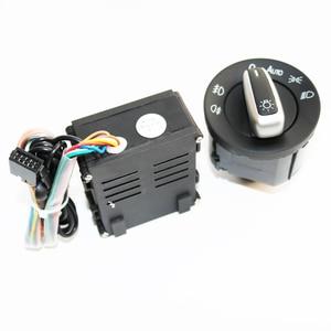 Image 2 - ELISHASTAR 자동 라이트 센서 헤드 라이트 스위치 집으로 오는 기능 폴로 골프 4 Passat B5 5ND941431B