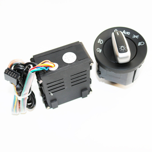 Image 2 - ELISHASTAR Auto Light Sensor With Headlight Switch Leaving Home Coming Home Function For  Polo Golf 4 Passat B5 5ND941431B