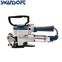 SWANSOFT Pneumatische B19B25 freies taste pneumatische ballenpresse Automatische tragbare pneumatische stahl umreifung maschine Ballenpresse-in Pneumatik-Werkzeuge aus Werkzeug bei
