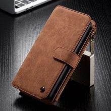 Voor Huawei P30 Lite Wallet Case Luxe 2 in 1 Afneembare Folio Magnetische Leather Cover voor Pro p30 Coque Capa