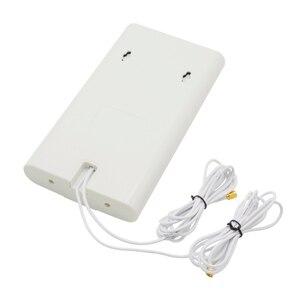Image 3 - 700 ~ 2600 MHz 88dbi 3G 4G LTE Ăng Ten Di Động Ăng Ten 2X CRC9/TS9/SMA Đực cổng Kết Nối MIMO Bảng Điều Khiển Anten + 2 Mét Cáp Cho Router