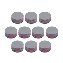 uxcell 100 Pcs 1-Inch Hook and Loop Sanding Disc Wet / Dry Silicon Carbide 2000 Grit for Polishing Furniture, Wood, Metal