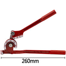 3 in 1 Manual Pipes Bender 6/8/10mm 180° Bending Tool Brake Fuel Hose  Pipe Tube Copper Elbow