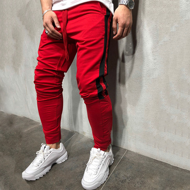 Tether Rope Color Matching Feet Trousers 4