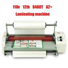110v 220v 12th 8460T A2 Four roller Laminating Machine Hot Rolling Mill Roller cold laminator Rolling