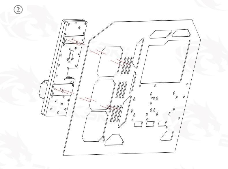 Bykski uso kit para puma blazer computador