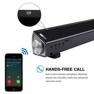 Image 2 - 10W Bluetooth Speaker Sound Bar Wireless Subwoofer Soundbar Receiver Stereo Super Bass Loudspeaker For iphone TV Phone