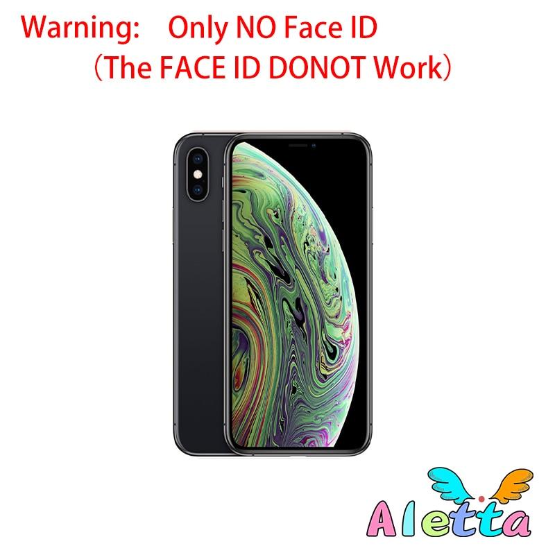 Entsperrt Apple iPhone Xs Max 6,5 zoll Keine Gesicht ID NFC ROM 64GB/256GB Smartphone A12 Hexa-core Apple Zahlen
