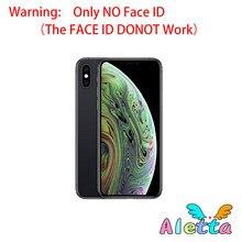 Odblokowany oryginalny używany Apple iPhone Xs Max 6.5 cala bez twarzy ID NFC ROM 64GB/256GB Smartphone A12 hexa-core Apple Pay telefon komórkowy