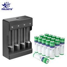 16pcs AA NIZN 1.65V 2600mWh batterie Rechargeable cadeau un chargeur USB 2A ni-zn batteries pour jouets MP3 caméra lecteurs CD