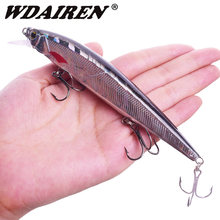 WDAIREN Minnow sinking Fishing Lure 14cm 18.5g Artificial Hard Bait Bass Wobblers Lures Crankbait Pike 3D Eyes Fish Bait(China)