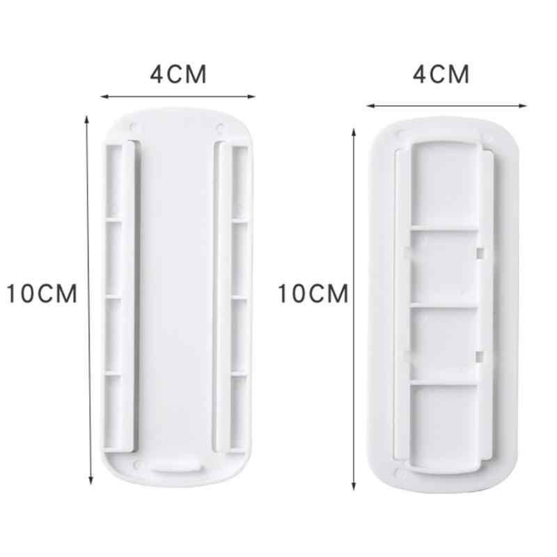 Mural autocollant prise Fixer auto-adhésif télécommande routeur câble fil support organisateur Invisible stockage fournitures