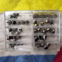 Ремонтная головка коробки, аксессуары для стола, все стальные головки 10, общий размер, с водонепроницаемым кольцом для инструментов для часов