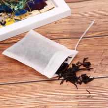 100 Pieces/Set Of Multiple Size Tea Bags, Empty Scented Tea Bags, With Herbs, Bulk Tea Bags, Healing With String, Sealing Filter