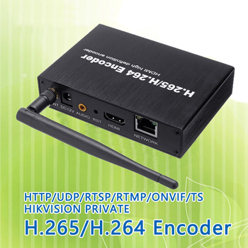 H.265 H.264 HDMI Video Audio Wifi Encoder IPTVs RTSP RTMP ONVIF HDMI Encoder H265 For Live Streaming Broadcast