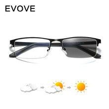 Evove Photochromic Glasses Men Change to Grey+ Anti Blue Light