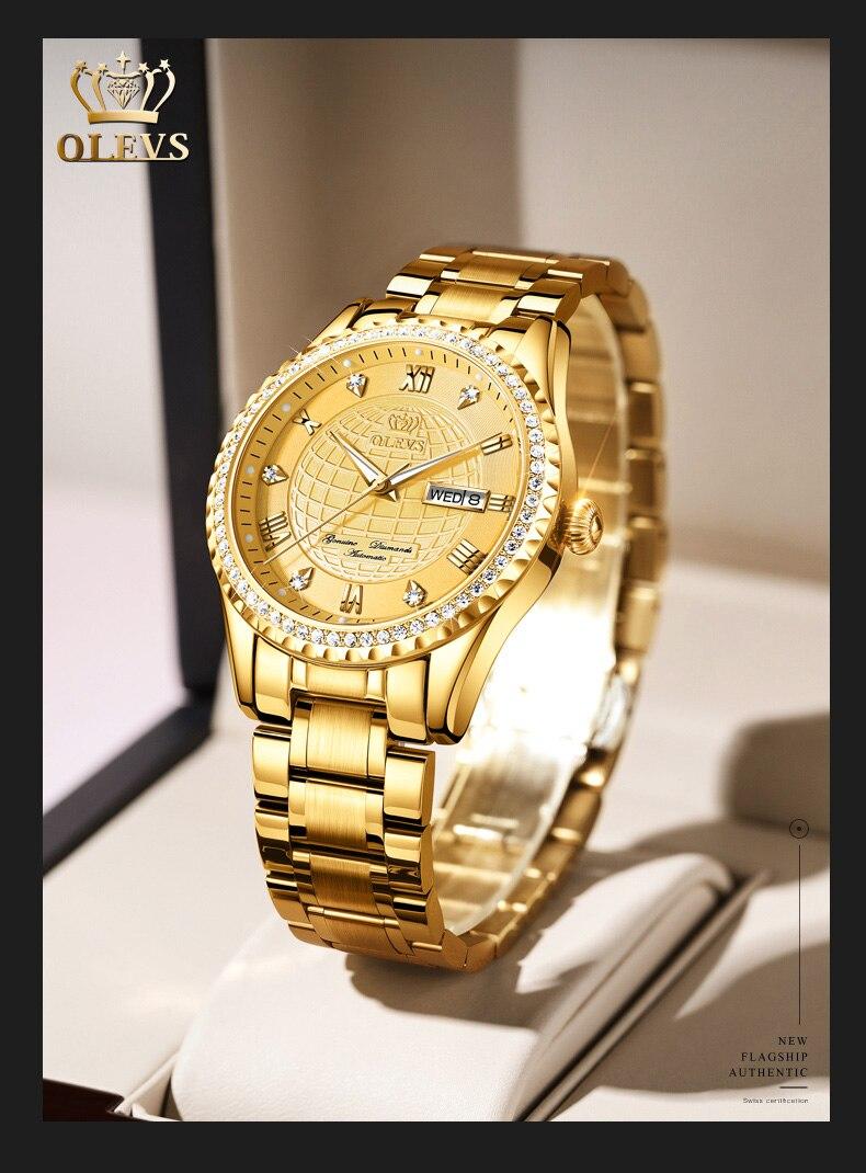 relógio masculino à prova dwaterproof água relógio
