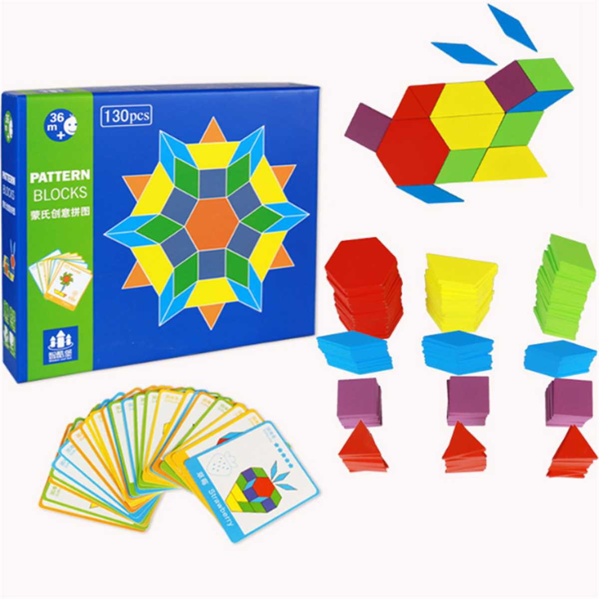 Puzzle Games Educational Toys For Children Jigsaw Puzzle Learning Kids Developing Wooden Toys For Boys Girls