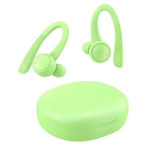 Image 2 - T7 Pro TWS 5.0 bezprzewodowy Bluetooth słuchawka hi fi Stereo słuchawki bezprzewodowe zestaw słuchawkowy dla aktywnych z etui z funkcją ładowania kolor dla dziewczyny