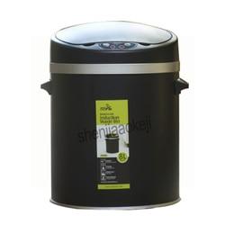 Induction Household living room hotel bathroom Large stainless steel  smart waste bin 8L/10L optional Smart trash can 1pc