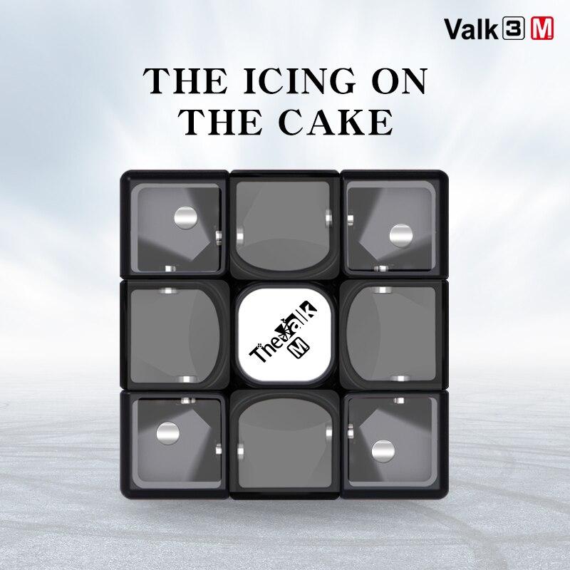 Qiyi Mofangge 3x3x3 Valk3 M Magnetic Magico Cubo 3layer Speed Cube Valk 3 M  VALK3M Professional Toys For Children