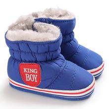 DOGEEK ciepłe zimowe buty dla dzieci niemowlę buty dla małego dziecka dziewczyna chłopiec buty śniegowce zimowe noworodka buty ciepłe antypoślizgowe miękkie podeszwy buty tanie tanio COTTON Zima Pasuje prawda na wymiar weź swój normalny rozmiar Połowy łydki Unisex PATCH baby Buty śniegu Cotton Fabric