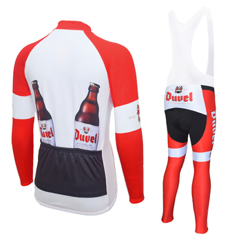 2019 DUVEL ciclismo jersey conjunto de manga larga para hombre ropa bicicleta hombre invierno ropa de ciclismo de lana ropa MTB ropa