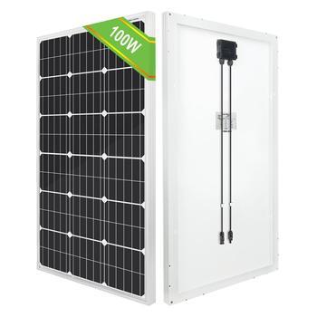 ECO-WORTHY 100W 200W 1000W 18V Panel słoneczny Mono Off Grid 12V ładowanie akumulatora RV Boat tanie i dobre opinie ECO-WORTHY CN (pochodzenie) 1010x510x35mm L02M100-B-1 36pcs solar cells Monokryształów krzemu home camping RV 21 6V