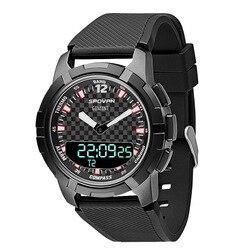 Spovan новые уличные умные асинхронные двойные часы компас механический указатель многофункциональные спортивные часы
