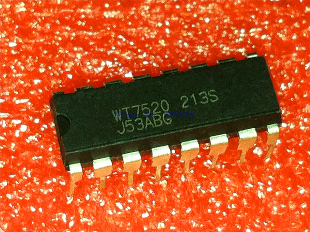 1pcs/lot WT7520 7520 DIP-16 In Stock