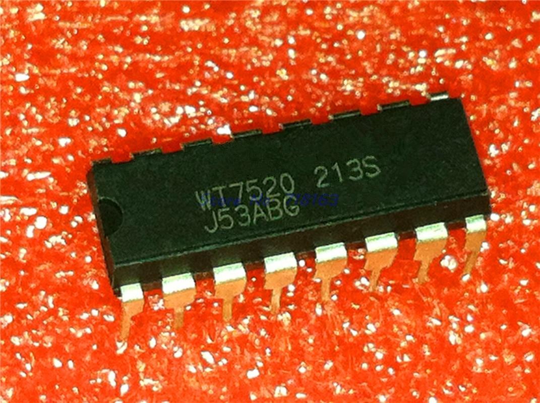 1pcs/lot WT7520 7520 DIP-16 In Stock