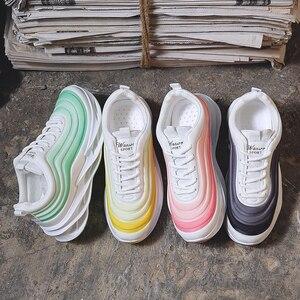 Image 5 - Scarpe da Donna Scarpe da Ginnastica di Moda di Spessore Inferiore Della Piattaforma Delle Donne Scarpe da Ginnastica Appartamenti Femminile Casual Scarpe da Donna Zapatos De Mujer Dropshipping