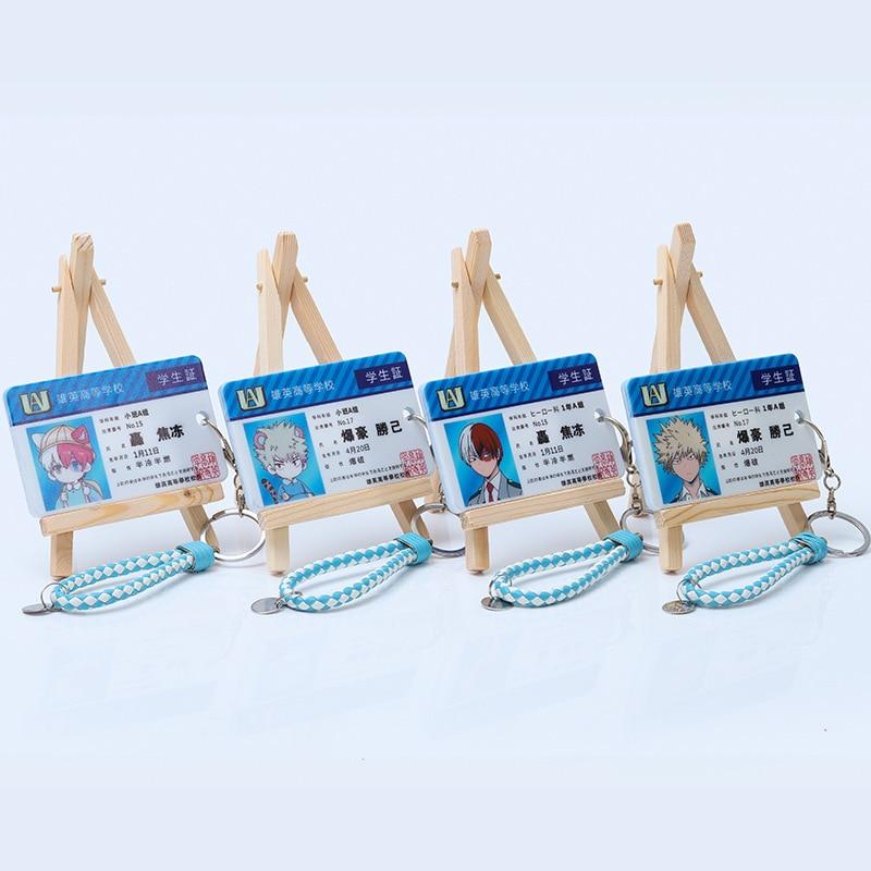 Anime My Hero Academia Boku no Hero Asui Tsuyu OCHACO URARAKA Acrylic Cards Holder Keychain Bag's Pendant Cosplay Xmas Gifts