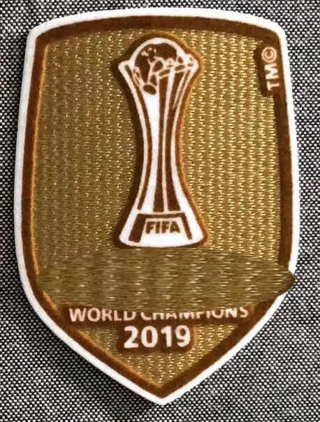 2019 Club Cup Champions Patch Voetbal Patch Badge