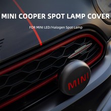 Mini cooper R56 R55 R57 R58 R59 R60 R61 F54 F55 F57 F60, 2 pièces, couvercle de lampe Spot halogène en plastique, plusieurs couleurs, nouveau