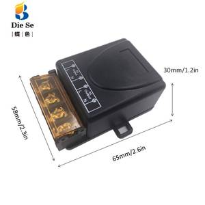 Image 2 - High Power 2000W 433MHz Wireless Remote Control AC 75V~220V Relay Receiver Module for Factory Farm Office Ventilation Pump LED