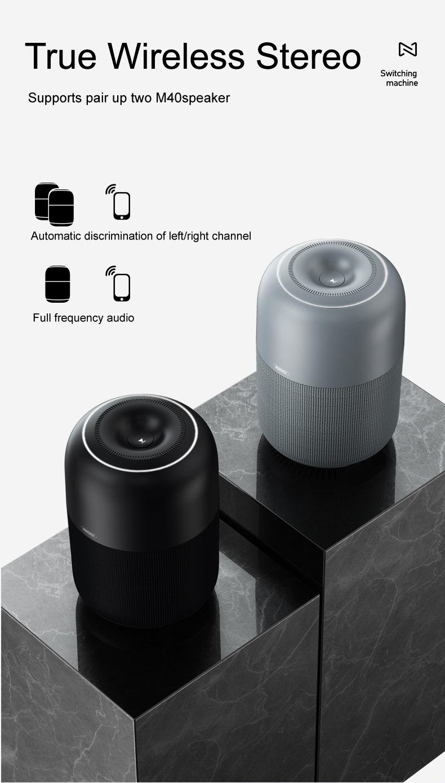 Remax M40 Portable Wireless Bluetooth Speaker 6