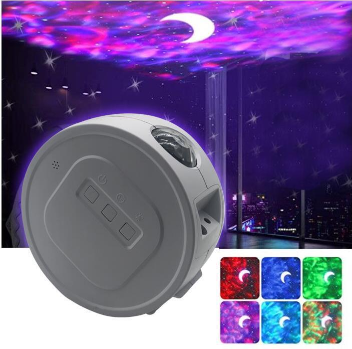 Led Ster Projectie Licht Ocean Star Sky Night Light Diepe Slaap Sterrenlicht Slaap Projectie Licht Voor Kids Slaapkamer Gift Indoor