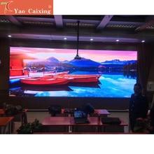 3.8kg P2.5 실내 smd 나노 복합 캐비닛 화면 사용 임대 또는 수정 설치 led 디스플레이