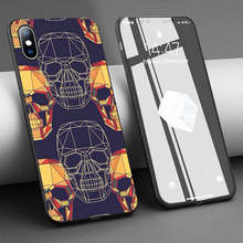 Coque Digital Skulls Tatoo Soft Silicone Phone Case for iPhone 11 Pro Max X 5S 6 6S XR XS Max 7 8 Plus Case Phone Cover(China)