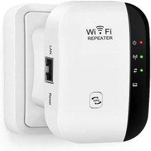 Nowy bezprzewodowy 2.4G wzmacniacz sygnału WiFi 300 mb/s przedłużacz sieci daleki zasięg Router bezprzewodowy dostęp do internetu wzmacniacz sygnału RJ45 Port wzmacniacz opakowanie detaliczne