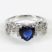 New Love Heart Mom Mother's Day Gift Zircon Stone  925 Sterling Silver Color Rings for Women Fashion Wedding Engagement Jewelry missita 100% 925 sterling silver rings for women love series heart wedding brand fashion jewelry anniversary gift hot sell