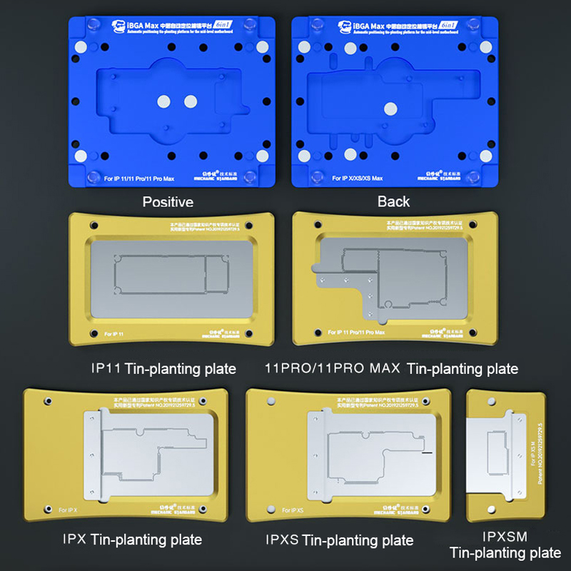 Motherboard Kit Max IPhone 11 11 Pro Platform MECHANIC Reballing For Fixture MAX XS Stencil BGA MAX 11Pro Planting Tin XS X IBGA
