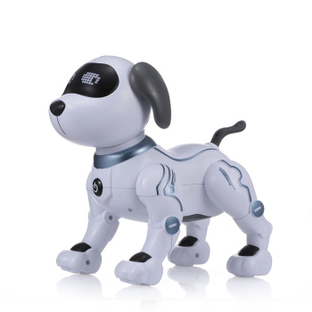 LE NENG TOYS K16A Electronic Animal Pets RC Robot Dog Voice Remote Control Toys Music Song Toy for Kids RC Toys Birthday Gift 2