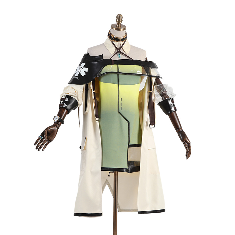 Game Arknights Cosplay Costume Cos Kal'tsit Cosplay Halloween Party High Quality Costume Men/Women