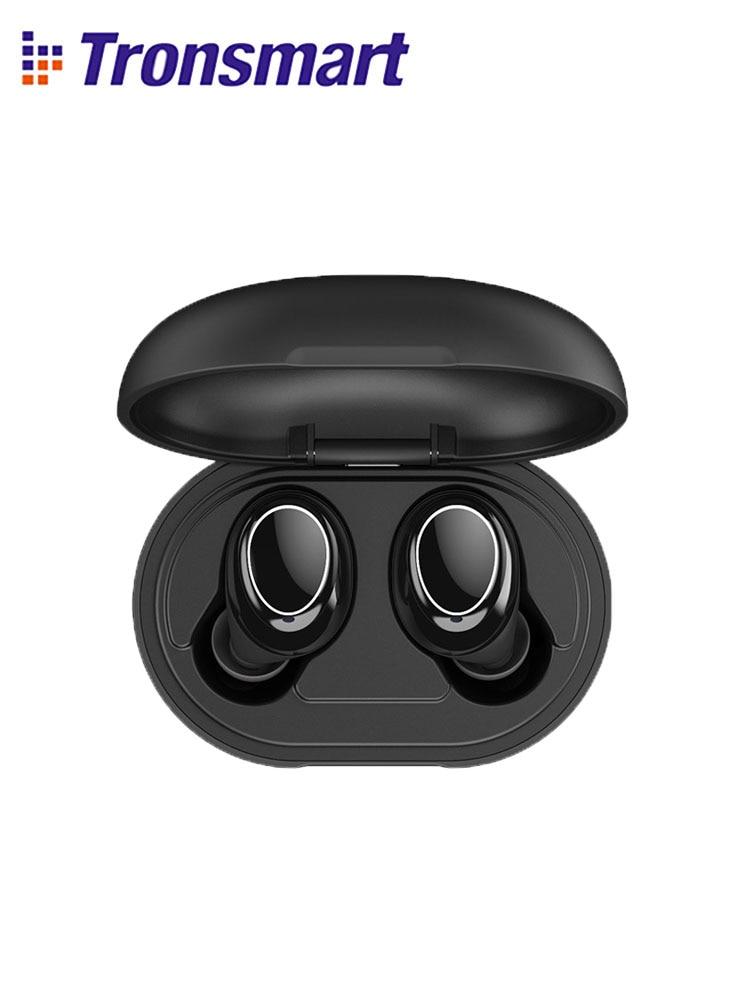 [Newest Version] Tronsmart Onyx Neo TWS Bluetooth Earphone Wireless Earbuds with Qualcomm Chip, aptX, Volume Control|Bluetooth Earphones & Headphones| - AliExpress