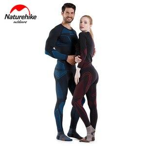 Image 3 - 네이처하이크 정리 승진 빠른 건조 속옷 정장 남성과 여성 스키 야외 기능 wicking 열 속옷
