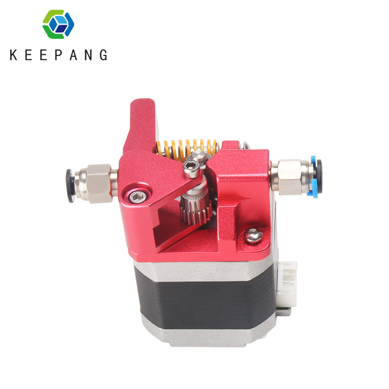 Dual Pulley MK8 Remote Metal Extruder Block DIY Right Hand Double Gear Extruder For CR 10S CR10S PRO Ender 3 Ender 3PRO E|3D Printer Parts & Accessories| |  - title=