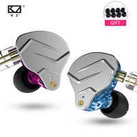 NUOVO KZ ZSN PRO 1BA + 1DD KZ Hybrid Auricolare auricolare HIFI Auricolari In Ear Monitor Cuffie Auricolari Per kz zs10 as10 zst