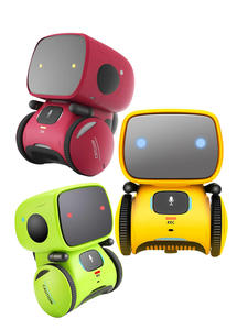 Toy Robot Touch-Control Intelligent Educational Interactive Voice English Russian Spanish-Version